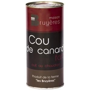 Cou de canard farci - La Ferme Les Bruyères - Cou