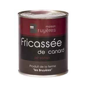 Fricassée de canard au safran - La Ferme Les Bruyères - Fricasse