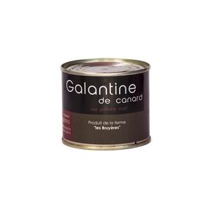 Galantine de canard au poivre vert - La Ferme Les Bruyères - Galentine