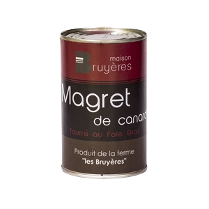 Magret de canard fourré au foie gras - La Ferme Les Bruyères- Magret fourre