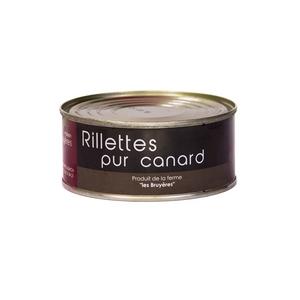 Rillettes pur canard - La Ferme Les Bruyères - Rillette
