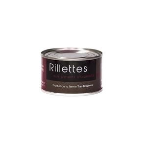 Rillettes aux piments d''Espelette - La Ferme Les Bruyères - Rillette Piment